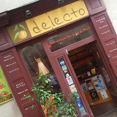 Delecto, Bar à fruits à Montpellier